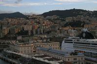 zurück in Genua
