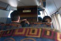 In der kleinen Maschine sitzt man wie im Bus