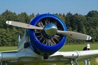 """Ein Sternmotor Pratt&Whitney """"Wasp"""" R-1340 AN-1, Startleistung 600PS"""